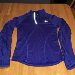 Bike quarter zip Dri-Fit top